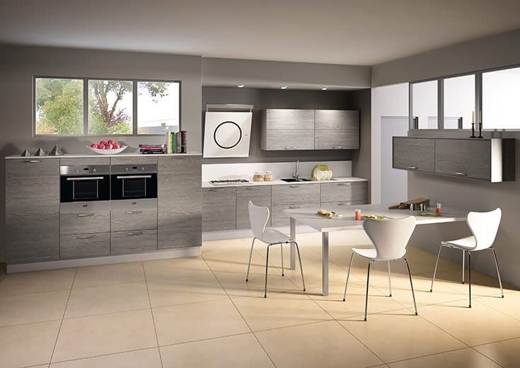 nos cuisines cuisines gilbert. Black Bedroom Furniture Sets. Home Design Ideas